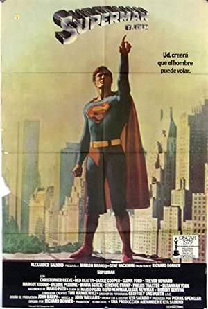 SUPERMAN MOVIE POSTER/SUPERMAN EL FILM/POSTER