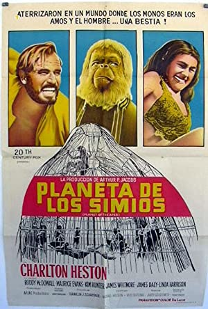 PLANET OF THE APES MOVIE POSTER/PLANETA DE LOS SIMIOS/POSTER
