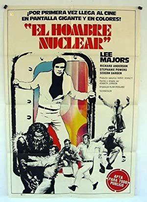 BIONIC SHOWDOWN: THE SIX MILLION DOLLAR MAN AND THE BIONIC W MOVIE POSTER/EL HOMBRE NUCLEAR/POSTER