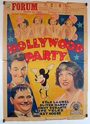 HOLLYWOOD PARTY MOVIE POSTER/HOLLYWOOD PARTY/POSTER