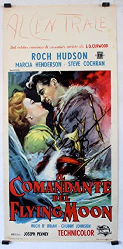BACK TO GOD'S COUNTRY MOVIE POSTER/COMANDANTE DEL FLYING MOON, IL/LOCANDINA