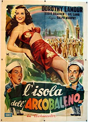 RAINBOW ISLAND MOVIE POSTER/ISOLA DELL  ARCOBALENO, L /POSTER
