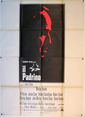 THE GODFATHER MOVIE POSTER/PADRINO, IL/POSTER
