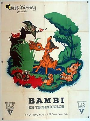 BAMBI MOVIE POSTER/BAMBI/POSTER