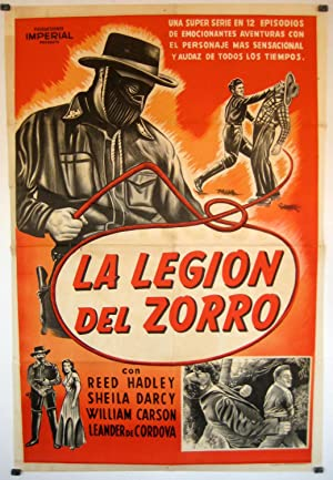 ZORRO'S FIGHTING LEGION MOVIE POSTER/LEGION DEL ZORRO, LA/POSTER