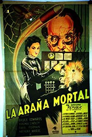 THE BLACK WIDOW MOVIE POSTER/ARAÑA MORTAL, LA/POSTER
