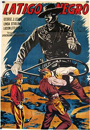 ZORRO S BLACK WHIP MOVIE POSTER/LATIGO NEGRO/POSTER