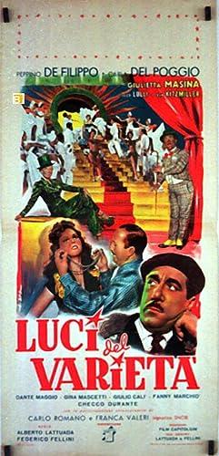 LUCI DEL VARIETA - 1951Dir FEDERICO FELLINI
