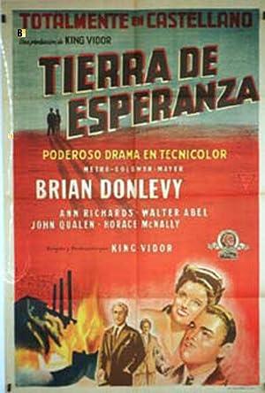 AN AMERICAN ROMANCE MOVIE POSTER/TIERRA DE ESPERANZA/POSTER