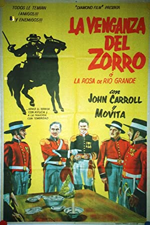 Rose of the Rio Grande MOVIE POSTER/VENGANZA DEL ZORRO, LA/POSTER