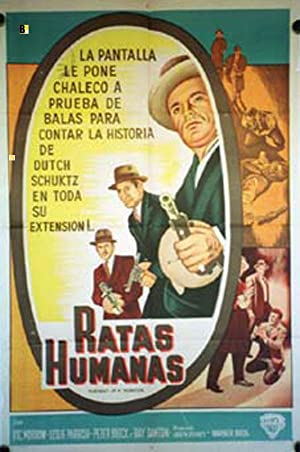 PORTRAIT A MOBSTER MOVIE POSTER/RATAS HUMANAS/POSTER