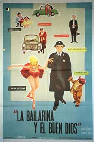 MOVIE POSTER/ BALLERINA E BUON DIO/ MARIO