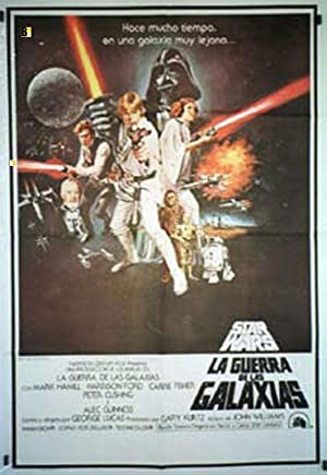 STAR WARS MOVIE POSTER/GUERRA DE LAS GALAXIAS, LA/POSTER