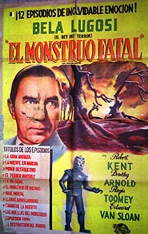 THE PHANTOM CREEPS MOVIE POSTER/MONSTRUO FATAL, EL/POSTER