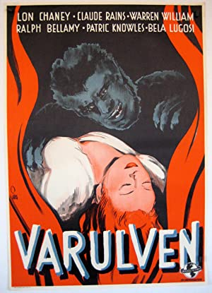 THE WOLFMAN MOVIE POSTER/VARULVEN/POSTER