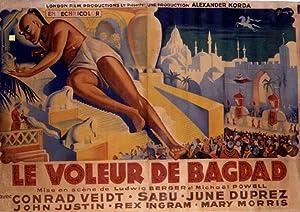THE THIEF OF BAGDAD MOVIE POSTER/VOLEUR DE