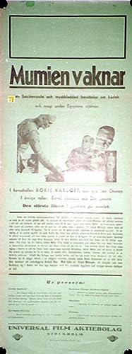 MUMIEN VAKNAR - 1932Dir KARL FREUNDCast: BORIS
