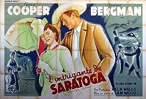 SARATOGA TRUNK MOVIE POSTER/INTRIGANTE DE SARATOGA, L