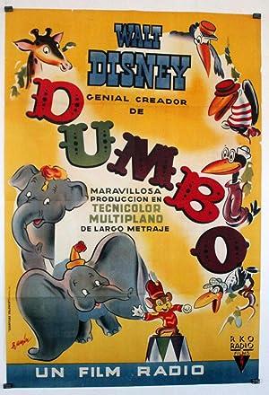 DUMBO MOVIE POSTER/DUMBO/POSTER