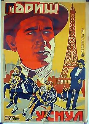 PARIS QUI DORT MOVIE POSTER/NAPNW YCHYN/POSTER