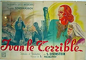 IVAN GROZNY MOVIE POSTER/IVAN LE TERRIBLE/POSTER