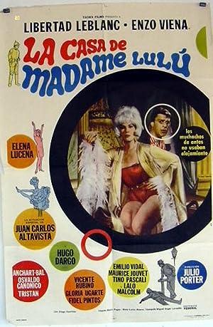 LA CASA DE MADAME LULU MOVIE POSTER/LA