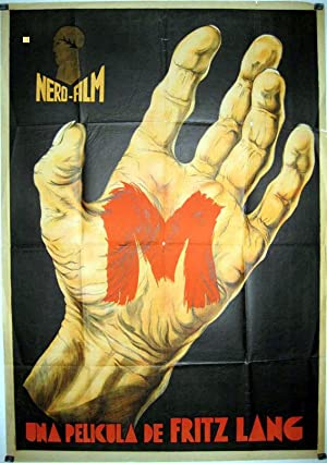 M MOVIE POSTER/M/POSTER