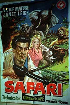 SAFARI MOVIE POSTER/SAFARI/POSTER