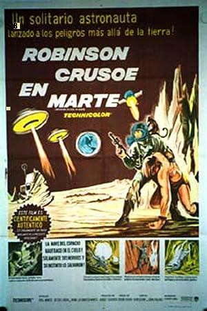 MOVIE POSTER/ ROBINSON CRUSOE ON MARS/ PAUL