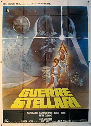 STAR WARS MOVIE POSTER/GUERRE STELLARI/POSTER