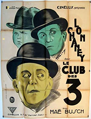 THE UNHOLY THREE 1931 MOVIE POSTER/CLUB DES