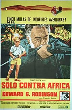 SAMMY GOING SOUTH MOVIE POSTER/SOLO CONTRA AFRICA/POSTER