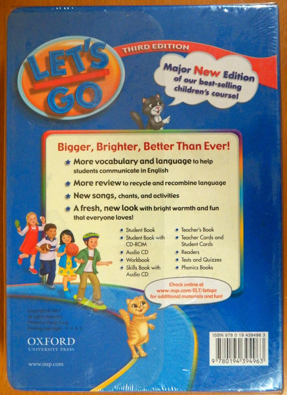 Let's Go 3 Teacher's Cards (Third Edition) by Nakata, Ritsuko, et ...