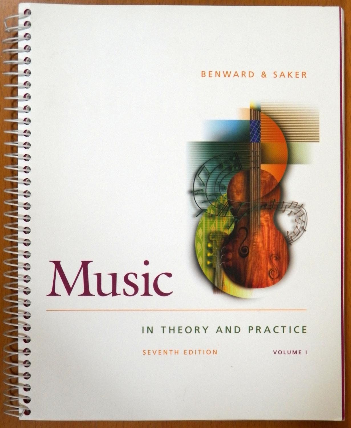 Workbooks music in theory and practice workbook : Music in Theory and Practice, Volume 1 (Seventh Edition) with ...