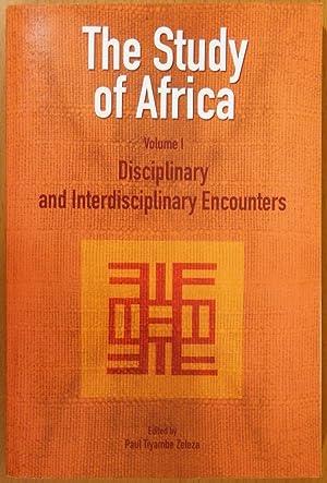 The Study of Africa: Volume 1 --: Zeleza, Paul Tiyambe