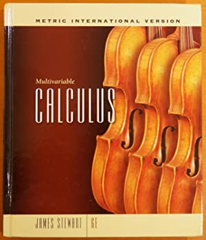Multivariable Calculus (Sixth Edition), International Metric Version: Stewart, James