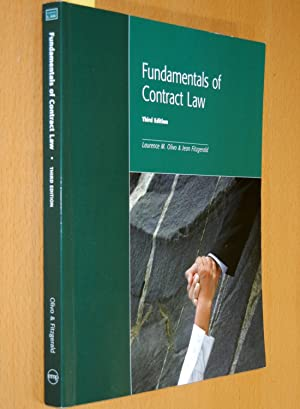 Fundamentals of Contract Law (Third Edition): Olivo, Laurence M.;