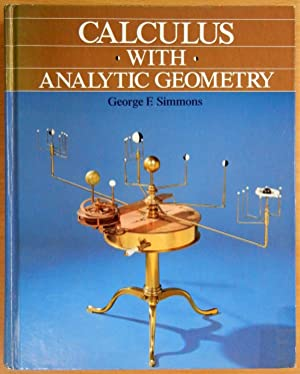 Simmons George F.calculus With Analytic Geometry.2nd Ed Pdf