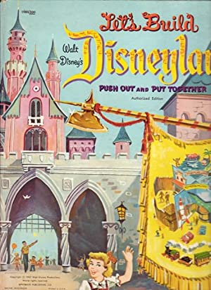 Let's Build Walt Disney's Disneyland Push Out and Put Together