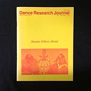 Dance Research Journal, Winter 1986-1987. Russian Folklore: Congress on Research