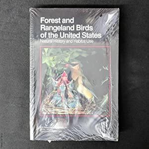 Forest and Rangeland Birds of the United States: Natural History and Habitat Use