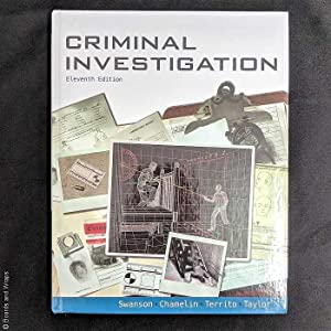 9780078111525 abebooks criminal investigation 11th edition swanson charles r fandeluxe Images