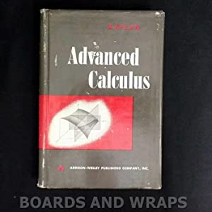 wilfred kaplan - advanced calculus - First Edition - AbeBooks