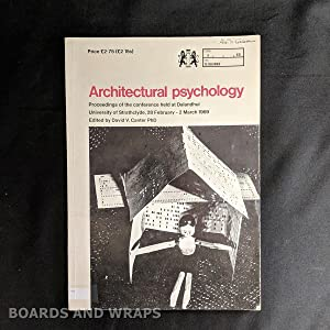 Architectural Psychology Proceedings of the Conference Held At Dalandhui, University of Strathcly...