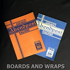 Chicago Abendpost Kalender, 1940 & 1941 (two volumes)