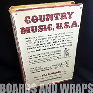 Country Music, U.S.A. A Fifty Year History