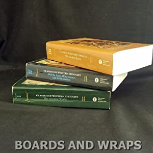 Classics of Western Thought (3 volumes) The Ancient World; Middle Ages, Renaissance, and Reformat...