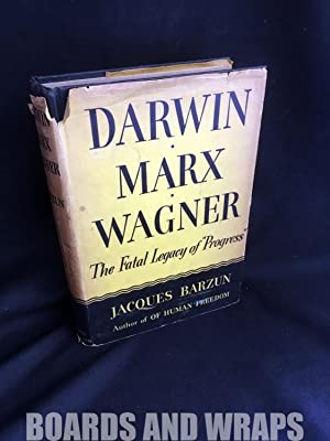 Darwin, Marx, Wagner Critique of a Heritage