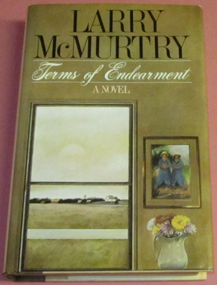 Terms of Endearment McMurtry, Larry Very Good Hardcover First edition 1st printing, Very Good to Near Fine book with the ubiquitous page browning, several gathering have aged more than the rest, soft at spi