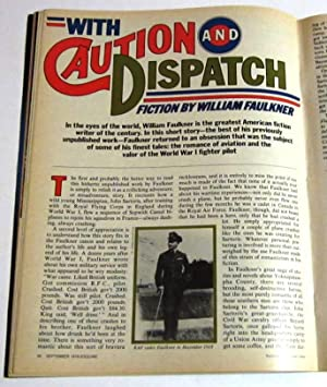 With Caution and Dispatch (A short story): Faulkner, William